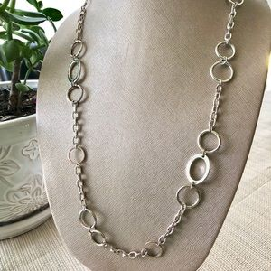 Jewelry - GEGRGE Silver Oval Link Chain Necklace